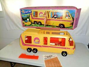 Vintage 1976 Barbie Star Traveler Eleganza II Motor Home, Camper, RV, with Box