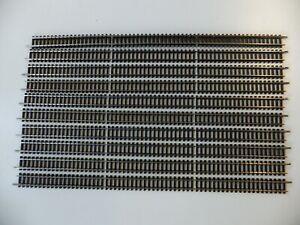 Minitrix 4902 Schienen 10 gerade Gleise 312,6mm = 3x 4904 Top Spur N