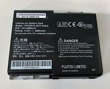Fujitsu Cp159883-01 Fpcbp70 Btp-44A3 Lithium Ion Laptop Battery Pack Untested