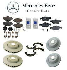 Mercedes W211 E320 Base CDI Sedan Wagon 03-06 GENUINE Front and Rear Brake KIT