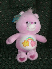"Care Bear 8"" Series #3 * BEST FRIEND BEAR * Purple * NWT *2004* RARE *RETIRED"