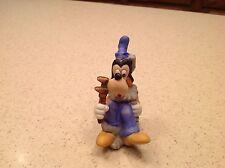 Vintage Walt Disney Productions Porcelain Bisque Figurine Goofy Plumber Wrench