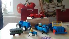 Konvolut  Spielzeugautos und Traktoren ca 1960