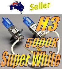 2x Super White High Beam Globe 100w xenon gas bulbs