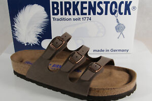 Birkenstock Ladies Mules Birkoflor Braun 053881 New