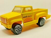 Vintage Tonka Dairy Truck Collectible Yellow Pickup Toy