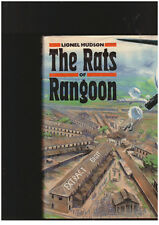 Rats of Rangoon Lionel Hudson HCDJ 1ST EDITION Burma Japanese War
