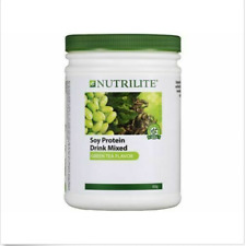 Amway Nutrilite Soy Protein Drink Low Fat Green Tea Flavor 4 x 450g EXPRESS SHIP