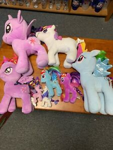 My Little Pony Plushes Lot Of 8