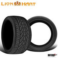 2 X New Lionhart LH-Ten 335/25R22 105W High Performance All-Season Tires