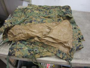 USMC Military MARPAT Woodland Digital REVERSIBLE FIELD TARP Tarpaulin 90x80 Fair