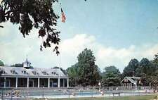 Weston West Virginia pool State 4-H Camp at Jackson Mills vintage pc Z26412