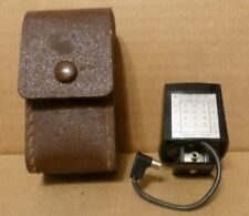 Sylvania Exposure Cube to Aid Flash Cubes - In Orig Leather Case w/Instructions