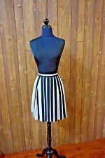 NWT$119 VINCE CAMUTO-Black/White  Plaided skirt  SZ: 6