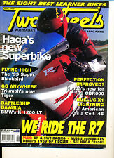 Two Wheels Magazine June 1999  CBR600F4 K1200LT Buell X1 Blackbird Tiger 900 #1