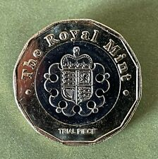 More details for 2015 trial £1 coin - from sealed bag - rare unc uncirculated.