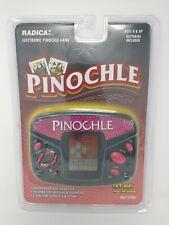Radica Electronic Pinochle Handheld Travel Game Model 3667 Vintage NIB Rare