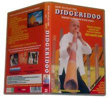 Play the didgeridoo - DVD LEARN FAST!  Didjeridoo.