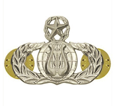 Vanguard AIR FORCE BADGE: BAND: MASTER - MIDSIZE