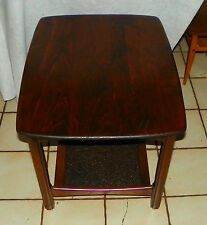 Mid Century Cherry End Table / Side Table (T307)