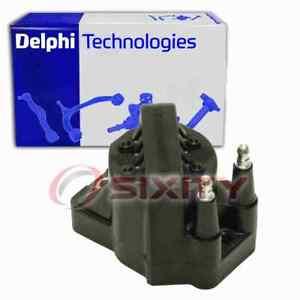Delphi Ignition Coil for 1992-1995 Isuzu Trooper 3.2L V6 Wire Boot Spark ot