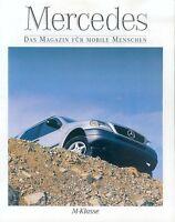 Mercedes M-Klasse Beilage 1998 Prospekt brochure Autoprospekt Broschüre Auto