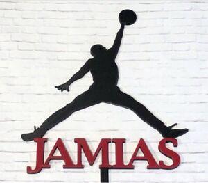 Air Jordan Jumpman Custom Cake Topper Jumpman Logo Cake Topper