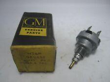 59-62 Buick Oldsmobile 2-Spd Windshield Wiper Switch w Washer NOS 989425