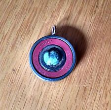 Skateboards blue black swirl Reds Bones ball bearing pendant charm skateboarding