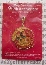 Tokyo Disneyland 20th Anniversary Charm Mickey Mouse