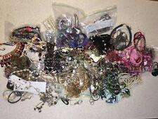 5kg Jewellery 50+ item lot  Necklaces, bracelets, earrings, rings. Mixed.