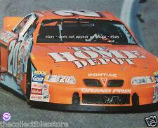 TONY STEWART HOME DEPOT PONTIAC GRAND PRIX NASCAR WINSTON CUP CAR 16 X 20 PHOTO