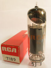 One 1970 RCA 7189 power amp tube - New Old Stock / New In Box