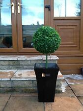 1x Artificial Topiary Ball With Planter