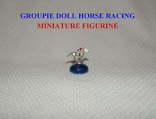 GROUPIE DOLL MINIATURE HAND PAINTED HORSE RACING FIGURINE 2012 2013 BREEDERS CUP