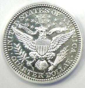 1902 PROOF Barber Quarter 25C Coin - Certified ANACS PR58 Details (PF58)