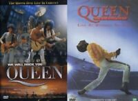 QUEEN: Live concert in Montreal (1981) / Live Wembley Stadium (1986) 2-DVD SET