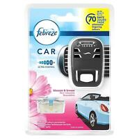 Febreze Blossom & Breeze Scented Car Air Freshener Vent Clip-On Starter Kit, 7ml