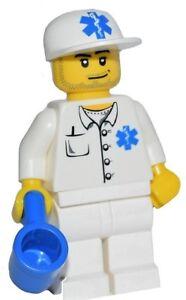 ☀️NEW LEGO Minifigure EMT Nurse Doctor Paramedic minifig Complete hospital