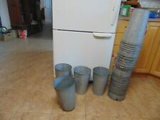12  maple syrup sap  buckets old galvanized buckets planters flowers #   6490