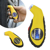 Tyre Air Pressure Gauge Meter Electronic Digital LCD Car Bike Tire TesterTool IY