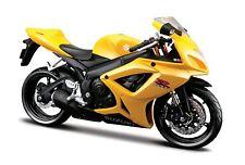 Maisto 1/12 Scale 06 Suzuki GSX -600 Diecast Motorcycle JC