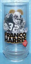 FRANCO HARRIS Pittsburgh Steelers Glass Eat n Park Coca Cola Coke