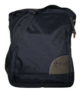 OVERLAND EQUIPMENT Black Poly-Nylon 11 x 8 Crossbody Shoulder Bag