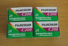 FUJICOLOR C200 35mm Film 4 x 24 EXPIRED NEW OLD STOCK