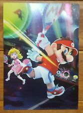 MARIO TENNIS ACE ACES CLEAR FILE A4 NINTENDO