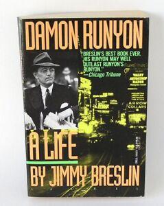Damon Runyon A Life by Jimmy Breslin (1992, Paperback)