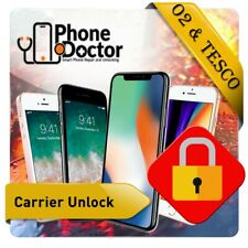 O2 & Tesco Unlocking Service UK Unlock Apple iPhone 5/5C/5S/6/6+/6s/6s+/SE/7/7+