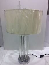 Crystal Rod Stand with IVORY Top