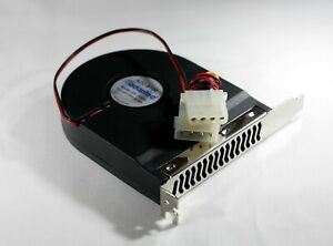 CASE SLOT COOLING FAN PCI Mounted Blower System Cooler CPU PC Ships from USA
